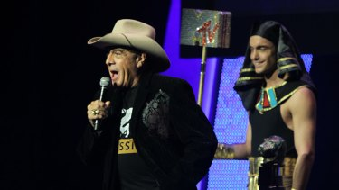 """I want to thank everyone here and around Australia for the support for what I went through."" Molly Meldrum"
