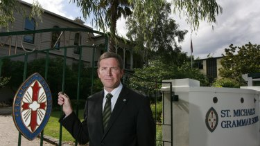 St Michael's Grammar School principal Simon Gipson said government funding enabled schools to keep fees under control.