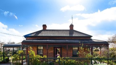 A typical cottage in Castlemaine, an increasingly popular destination for priced-out Melburnians.