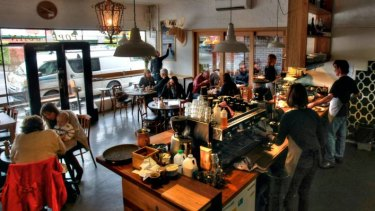East Brunswwick cafe Pope Joan is doing a thriving trade.