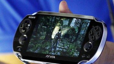 The PlayStation Vita.