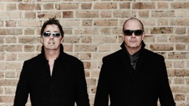 Richard Drummie (left) and Peter Cox (right) will play their Go West hits at a series of 80s-themed concerts.