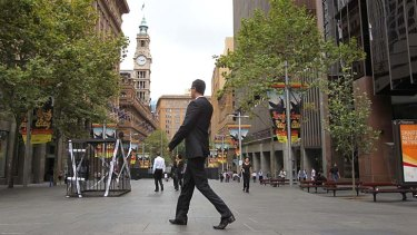 Smoke free trial: Martin Place may be the beginning of a city-wide smoking ban.