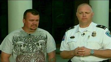 Adam Baker ... faces numerous charges, including assault.