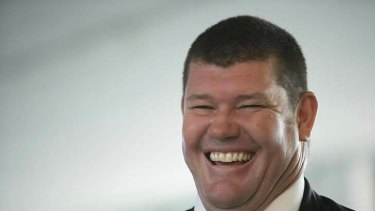 Billionaire James Packer.