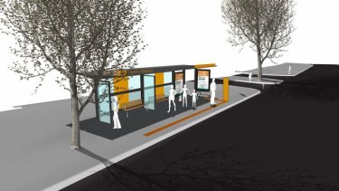 The new Barton bus station.