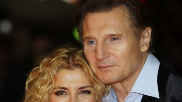 Natasha Richardson and husband Liam Neeson. Richardson, 45, has died following a skiiing accident in Canada.