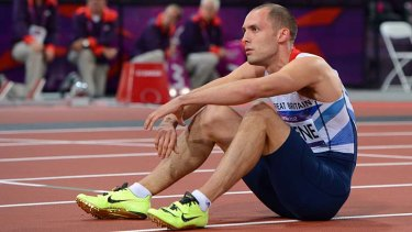 Dai Greene ... finished outside the medals.