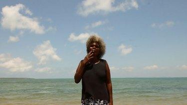 Standing firm: Yolngu elder Multhara Mununggurr says no one leader can speak for all clans.