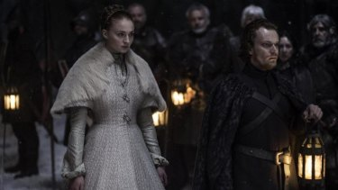 Sansa's marriage to Ramsay also impacts Theon.