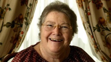 Bestselling author Colleen McCullough, whose last novel was published in 2013.