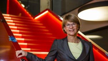 Lower kilojoule options: Coca-Cola Amatil chief executive Alison Watkins.