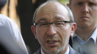 Gennady Kernes, the mayor of Kharkiv in eastern Ukraine, was shot while exercising.