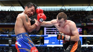 Daylight robbery: US boxing commentator Teddy Atlas claimed Pacquiao was 'robbed' of a win against Horn.