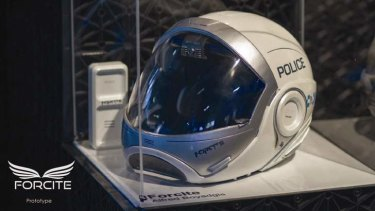 The Forcite helmet by Alfred Boyadgis.