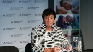 Business Council of Australia's Jennifer Westacott came out fighting on Wednesday.