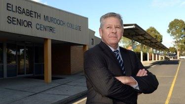 Elisabeth Murdoch College principal Tim Harper.