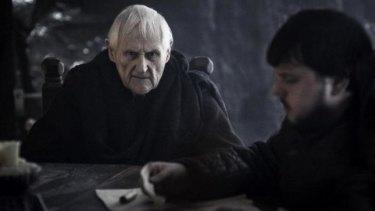 Maester Aemon and Samwell Tarly.