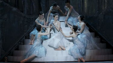 A scene from the Australian Ballet's 50th anniversary production of <i>Romeo and Juliet</i>.