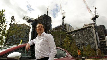Cederic Muller bought an apartment at Frasers Centrepoint's Central Park in Sydney.