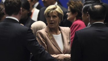 """A great honour for Australia,"" Foreign Minister Julie Bishop called the appointment."