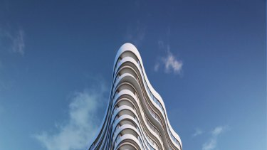 Construction of the first of six towers by Growland at Victoria Square is due to commence next year.