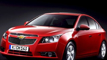 Holden will base its new small car on the Chevrolet Cruze.