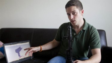 """""""Looks like we're gonna have a battle early about the future of the internet"""": Cody Wilson."""