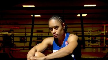 In the spotlight ... Olympic gold medal hopeful Quanitta Underwood has opened up on her troubled past.