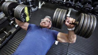 Paul Dolan, professor and author of <i>Happiness by Design</i>, lifts weights, which he says makes him happy.