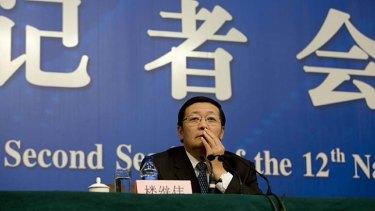 Focusing on growth: China's Finance Minister Lou Jiwei.