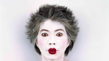 Many faces: Lee Lin Chin.