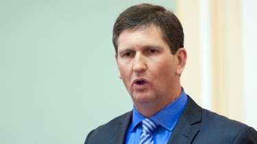 Queensland Health Minister Lawrence Springborg.
