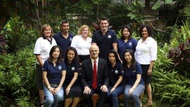 The cast of <i>The Embassy</i>.