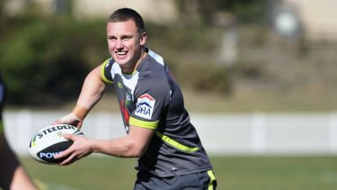 Re-signed ... Jack Wighton will stay with the Canberra Raiders  until the end of 2016.