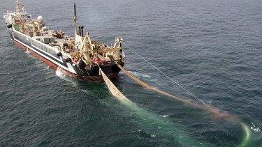 The Margiris super trawler.