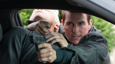 Tom Cruise reprises his role as Jack Reacher, a hardbitten former military policeman who specialises in dishing out violent justice.
