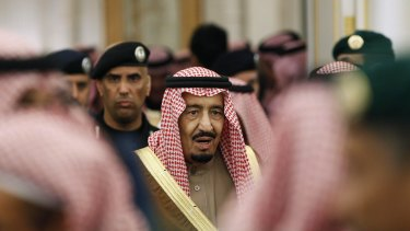 Saudi Arabia's King Salman bin Abdulaziz bin Abdulrahman Al Saud