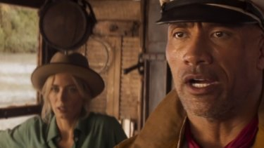 Dwayne Johnson leads the cast in Disney's new Jungle Cruise movie based on the iconic theme park ride