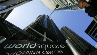 Top gun: World Square has been named as the number one CBD mall in a survey.