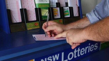 Bit of a gamble... State government hopes to raise $1 billion from partial sale of NSW Lotteries.