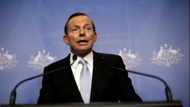 Prime Minister-elect Tony Abbott announces his cabinet.