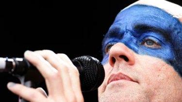 R.E.M's Michael Stipe.