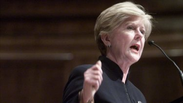 Australia's Human Rights Commissioner Gillian Triggs.