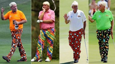 Do you channel a bit of John Daly in your golfing fashion? It could win you some tickets to the Perth International this month.