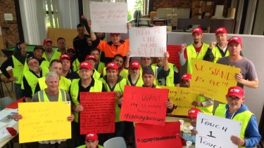 Dandenong flavour factory pay dispute escalates to lock-in