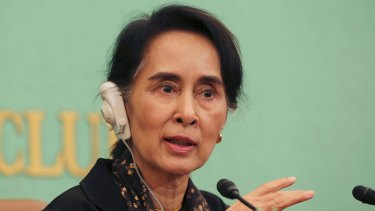 Myanmar's foreign minister Aung San Suu Kyi refuses to use the name Rohingya.