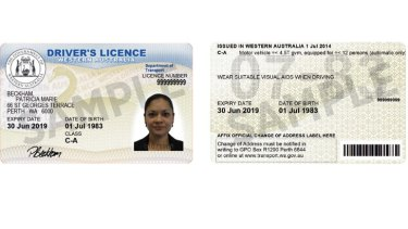 west australian drivers licence replacement