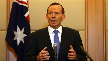 Set to cut ABC's funding: Prime Minister Tony Abbott.