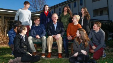Graham Tuxwell is giving $50 million to ANU to fund scholarships.